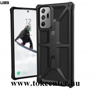 Samsung Galaxy Note 20 Ultra (SM-N985F) / Note 20 Ultra 5G (SM-N986F) UAG MONARCH műanyag telefonvédő (közepesen ütésálló, szilikon belső) FEKETE (212201114040)