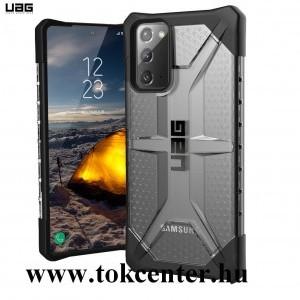 Samsung Galaxy Note 20 (SM-N980F) / Note 20 5G (SM-N981F) UAG PLASMA defender műanyag telefonvédő (közepesen ütésálló,csúszásgátló, légpárnás sarok) ÁTLÁTSZÓ (212193114343)