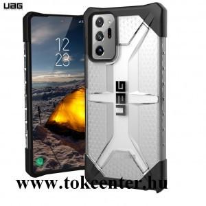 Samsung Galaxy Note 20 Ultra (SM-N985F) / Note 20 Ultra 5G (SM-N986F) UAG PLASMA defender műanyag telefonvédő (közepesen ütésálló,csúszásgátló, légpárnás sarok) ÁTLÁTSZÓ (212203114343)