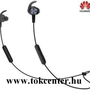 BLUETOOTH fülhallgató SZTEREO (nyakba akasztható, mikrofon, felvevő gomb, hangerőszabályzó, IPX5 cseppálló,SPORT) FEKETE (AM61_GB)