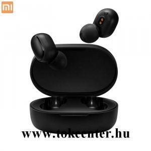 XIAOMI AirDots Basic S bluetooth SZTEREO fülhallgató (v5.0, TWS, extra mini + töltőtok) FEKETE (ZBW4502GL / TWSB08B558PZZ)