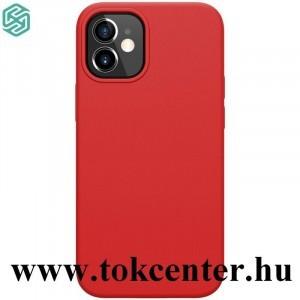 Apple iPhone 12 mini NILLKIN FLEX PURE szilikon telefonvédő (gumírozott) PIROS