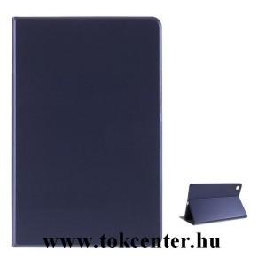 Samsung Galaxy Tab A7 10.4 (2020) LTE SM-T505 / Tab A7 10.4 (2020) WIFI SM-T500 Tok álló, bőr hatású (FLIP, oldalra nyíló, asztali tartó funkció) SÖTÉTKÉK