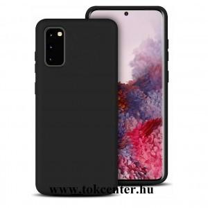 Samsung G780 Galaxy S20 FE / Galaxy S20 / Galaxy S20 FE 5G Lite Szilikon telefon tok FEKETE