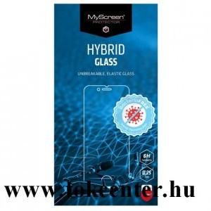 LG K42 (LM-K420HM) / LG K52 / LG K62 MYSCREEN DIAMOND HYBRIDGLASS BacteriaFREE képernyővédő üveg (flexibilis, antibakteriális, 3H, NEM íves) ÁTLÁTSZÓ