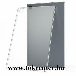 Samsung Galaxy Tab A7 10.4 (2020) LTE SM-T505 / Samsung Galaxy Tab A7 10.4 (2020) WIFI SM-T500 Szilikon telefonvédő (közepesen ütésálló) ÁTLÁTSZÓ