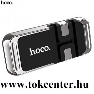 HOCO CA77 autós tartó (műszerfalra, mágneses,4.7-6.5'' méret) EZÜST