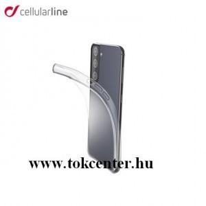 Samsung Galaxy S21 (SM-G991) 5G CELLULARLINE FINE szilikon telefonvédő (ultravékony) ÁTLÁTSZÓ