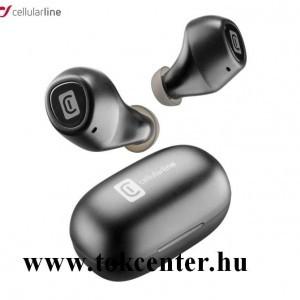 CELLULARLINE BLINK BLUETOOTH fülhallgató SZTEREO (v5.0, TWS, mini, mikrofon, aktív zajszűrő + töltőtok) FEKETE