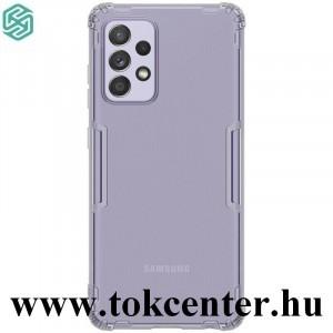 Samsung Galaxy A52 4G (SM-A525F) / Galaxy A52 5G (SM-A526F) NILLKIN NATURE szilikon telefonvédő (közepesen ütésálló, légpárnás sarok, 0.6 mm, ultravékony) SZÜRKE