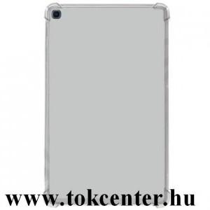Samsung Galaxy Tab A 10.1 LTE (2019) SM-T515 / Galaxy Tab A 10.1 WIFI (2019) SM-T510 Szilikon telefonvédő (közepesen ütésálló, légpárnás sarok) ÁTLÁTSZÓ