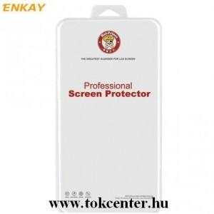 Samsung Galaxy A52 4G (SM-A525F) / Galaxy A52 5G (SM-A526F) ENKAY képernyővédő fólia (full screen, íves részre, öntapadós,öngyógyító,0.1mm vékony, PET) ÁTLÁTSZÓ