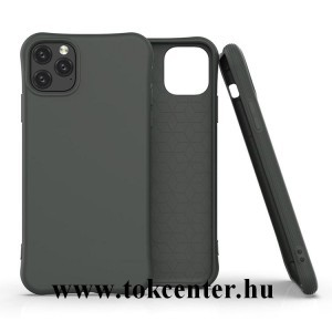 Xiaomi Redmi Note 9 Pro / Xiaomi Redmi Note 9S Szilikon telefonvédő (közepesen ütésálló, légpárnás sarok, matt) SÖTÉTZÖLD