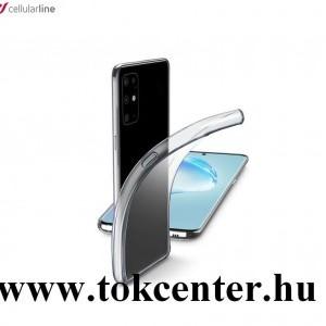 Samsung Galaxy S20 Plus (SM-G985F) / Galaxy S20 Plus 5G (SM-G986) CELLULARLINE FINE szilikon telefonvédő (ultravékony) ÁTLÁTSZÓ