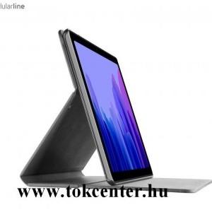 Samsung Galaxy Tab A7 10.4 (2020) LTE SM-T505 / Galaxy Tab A7 10.4 (2020) WIFI SM-T500 CELLULARLINE FOLIO tok álló, bőr hatású (FLIP, oldalra nyíló, asztali tartó funkció) FEKETE