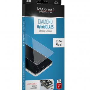 Samsung Galaxy A52 4G (SM-A525F) / Galaxy A52 5G (SM-A526F) MYSCREEN HYBRIDGLASS képernyővédő üveg (flexibilis, karcálló, ütésálló, 0.15mm, 8H, NEM íves) ÁTLÁTSZÓ