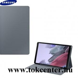 Samsung Galaxy Tab A7 Lite LTE (SM-T225) / Galaxy Tab A7 Lite WIFI (SM-T220) SAMSUNG tok álló (aktív flip, oldalra nyíló, asztali tartó funkció, érintőceruza tartó) SÖTÉTSZÜRKE (EF-BT220PJ)