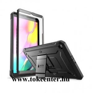 Samsung Galaxy Tab A 10.1 LTE (2019) SM-T515 / Galaxy Tab A 10.1 WIFI (2019) SM-T510 SUPCASE UNICORN BEETLE PRO defender műanyag telefonvédő (közepesen ütésálló, műanyag előlap, kitámasztó) FEKETE